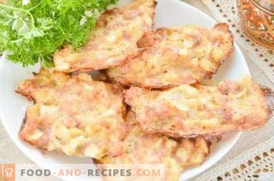 Empanadas de pollo picadas en el horno