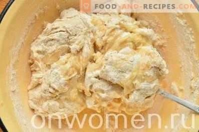 Pan integral integral en el horno