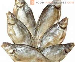 Hoe gedroogde vis te bewaren