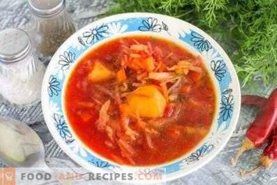 ¿Cuánto se almacena la sopa