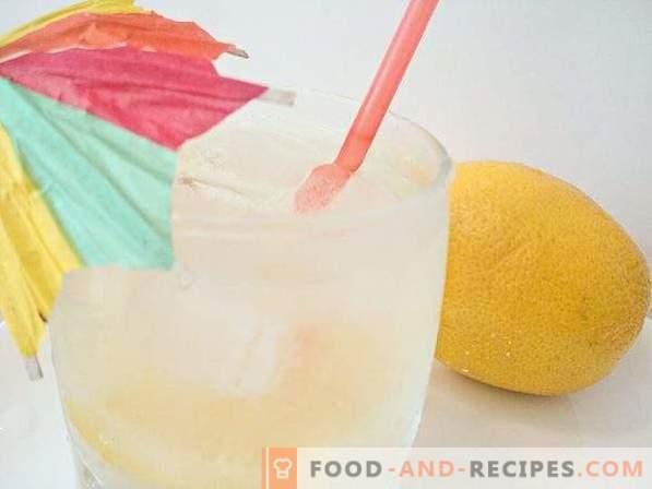 Limonada casera de limon