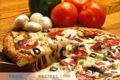 La ce temperatură se coace pizza