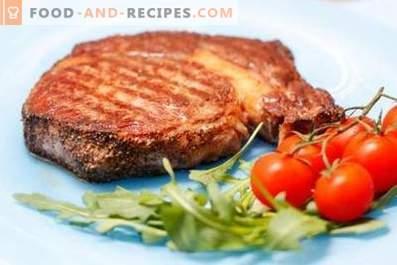 Bistecca di maiale in padella