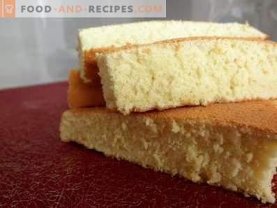 Tort de burete de portocale