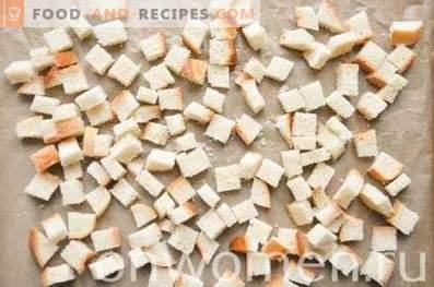 Cómo hacer migas de pan