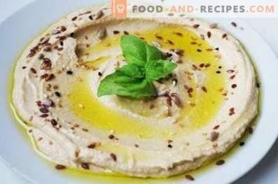 Hummus - beneficio y daño
