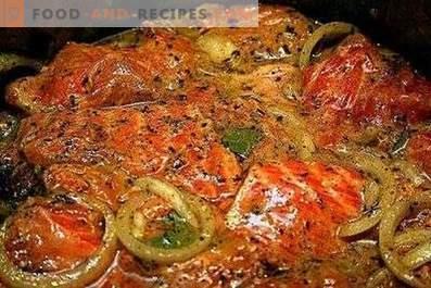 Adobo para kebab de pescado