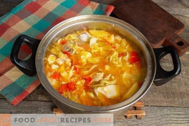 Sopa de cordero deliciosa
