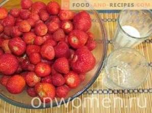 Sorbete de fresa