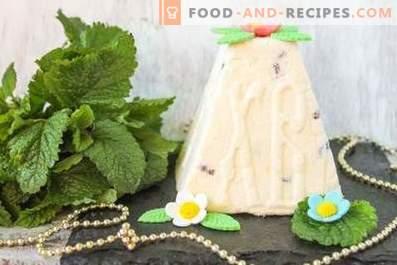 Cómo cocinar la cuajada de Pascua