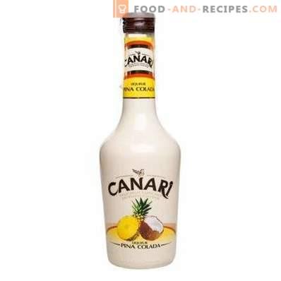 Cómo beber licor de piña colada