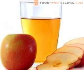 Vinagre de sidra de manzana en casa