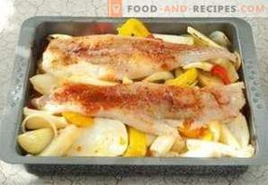 Bacalao en el horno con verduras