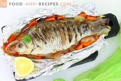 ¿A qué temperatura se debe cocer el pescado?