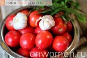Salsa de tomate para el invierno