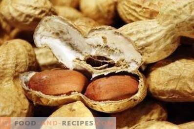 Peanuts: health benefits and harm