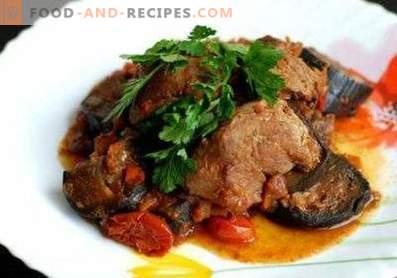 Carne guisada con berenjenas