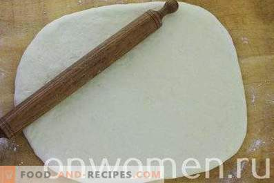 Bollos de canela con masa de levadura