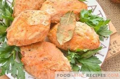 Rollitos de repollo con pollo