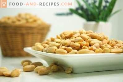 Cómo freír cacahuetes en el microondas