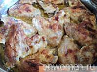 Alitas de pollo en el horno
