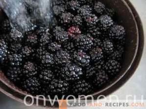 Blackberry mermelada para el invierno