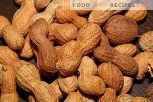 Arahide prăjite: beneficii și rău