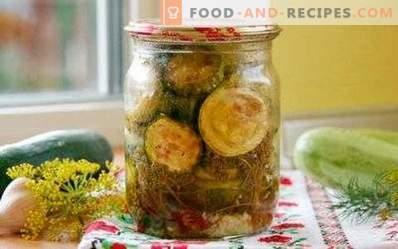Calabacines fritos para el invierno