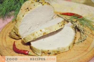 Cerdo al horno en una olla de cocción lenta