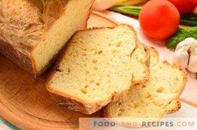 Серум хляб във фурната