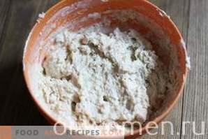 Pan casero en el horno