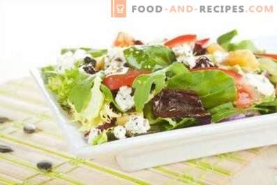Aderezos para ensaladas dietéticos