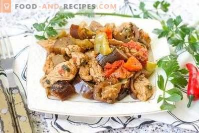 Estofado de carne con verduras