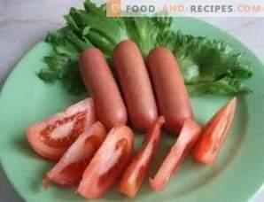Cómo cocinar salchichas