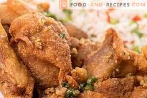 ¿Qué condimentos son adecuados para el pollo