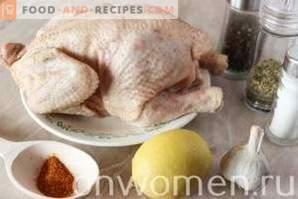 Tabaco de pollo en la sartén
