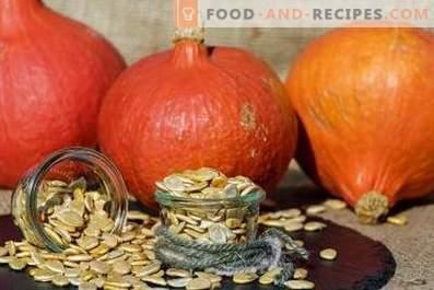 Cómo almacenar semillas de calabaza