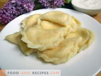 Empanadillas con queso cottage