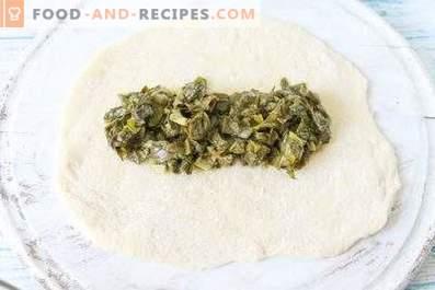 Relleno de acedera para empanadas