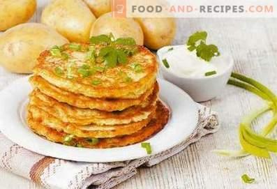 Tortitas de patata bielorrusas