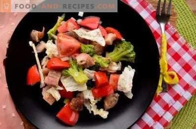Ensaladas de brócoli