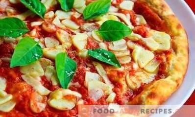 Cómo cocinar pizza en el horno