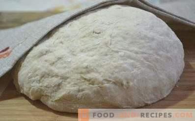 Masa para pastelería sin levadura