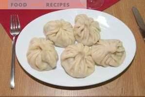 Come cucinare khinkali