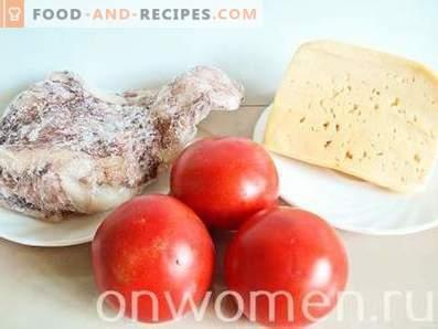 Ensalada De Calamar Con Tomate Y Queso