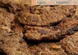 Hígado de res frito con cebolla