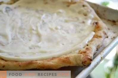 Salsa de pizza blanca