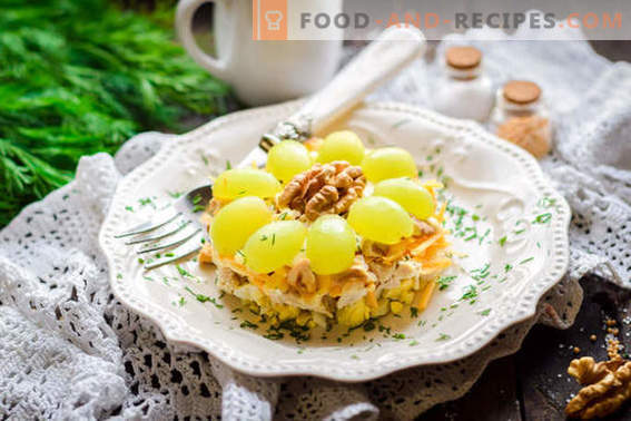 Ensalada Tiffany - una receta clásica