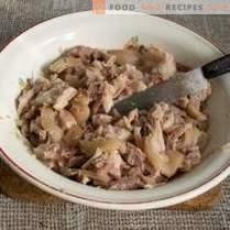 Ensalada de jalea y carne - 2 platos de 1 pierna de cerdo