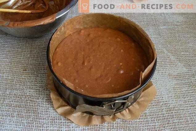 La perfecta tarta de quiche de chocolate